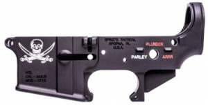 Spikes STLS016-CFA Lower Forged Pirate Multi-Caliber AR Platform Black - STLS016CFA