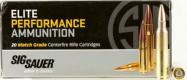 Sig Sauer AMMO .223 Remington 77GR ELITE OPEN TIP MATCH 20/ - E223M120