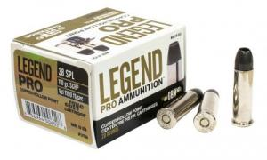 Legend AMMO  38 SPL  110GR Solid Copper Hollow Point 20 rounds