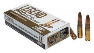 Legend AMMO .300 AAC 125GR. Solid Copper Hollow Point 20 rounds - LP300BA