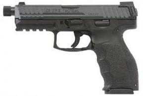 HK VP9 TACTICAL 9MM 4.7 BLK NS 3 15RD - 700009TLEA5