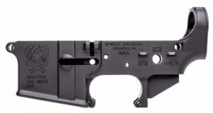Spikes STLS024 Stripped Lower PHU AR-15 AR Platform Multi-Caliber Black Hardcoa - STLS024