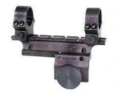 B-Square Black See Thru Dovetail Side Mount w/Rings For Ruge