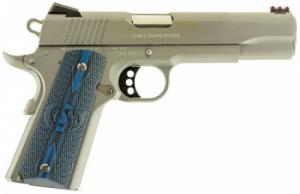 Colt Mfg O1083CCS 1911 Competition Single 38 Super 5 9+1 Blue G10 Grip Stainle - O1083CCS