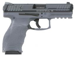 Heckler & Koch H&K VP9 Single/Double 9mm 4.09 10+1 Gray Interchangeable Backstrap G - 700009GYA5