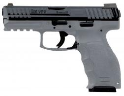 Heckler & Koch H&K VP9 Single/Double 9mm 4.09 10+1 Gray Interchangeable Backstrap - 700009GYLELA5