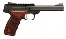 "Browning BUCK MARK PLUS UDX .22LR 5.5"" AS 10SH M.BLUED ROSEWOOD - 051533490"