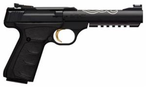 Browning 051525490 Buck Mark Lite UFX Single 22 LR 5.5 10+1 Black Ultragrip FX