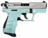 Walther Arms 5120362 P22 *CA Compliant* Single/Double Action .22 LR 3.4 10+1 Angel Blu - 5120362