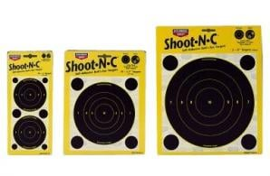 "Birchwood Casey Shoot-N-C 8"" Bulls Eye 5 Pack - 34805"