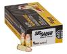 Sig Sauer E9MMB250 Elite Ball 9mm Luger 124 GR FMJ 50 Bx/ 20 Cs