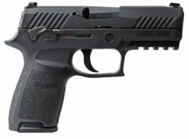 Sig Sauer 320C45BSSMS P320 Compact Double 45 Automatic Colt Pistol (ACP) 3.9 9 - 320C45BSSMS