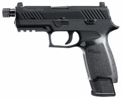 Sig Sauer 320CA9TACOPS P320 Carry TACOPS Double 9mm Luger 4.6 TB 21+1 Black Po