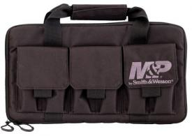 M&P Accessories 110029 Pro Tac Double Handgun Gun Case Nylon Smooth - 282
