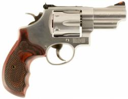 Smith & Wesson 150715 629 Deluxe Single/Double 44 Remington Magnum 3 6 Wood St