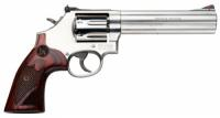 Smith & Wesson 150712 686 Plus Deluxe Single/Double 357 Magnum 6 7 Wood Stainl - 150712