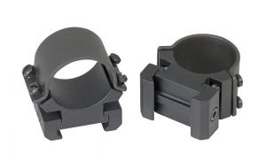 Weaver Medium Matte Scope Rings w/Adjusters - 49143