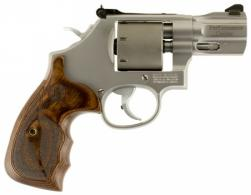 Smith & Wesson 10227 986 Performance Center Single/Double Action 9mm 2.5 7 Wood Stain - 10227
