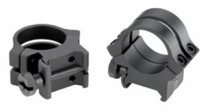 Weaver Scope Rings w/Matte Black Finish - 49053