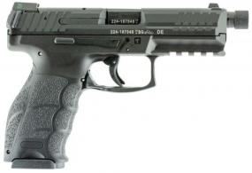 Heckler & Koch H&K VP9 Tactical Double 9mm 4.7 TB 10+1 3 Mags Black Interchang - 700009TLELA5