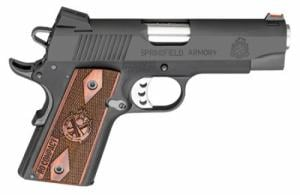 Springfield Armory PI9125L 1911 Single 9mm 4 8+1 Rosewood Grip Black Parkerize