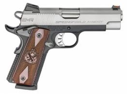 Springfield Armory PI9211L 1911 Single 9mm 4 10+1 Cocobolo Grip Stainless Stee