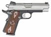 Springfield Armory PI9211L 1911 Single 9mm 4 10+1 Cocobolo Grip Stainless Stee - PI9211L
