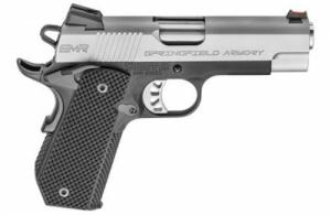 Springfield Armory PI9229L 1911 Single 9mm 4 9+1 Black G10 Grip Stainless Stee - PI9229L