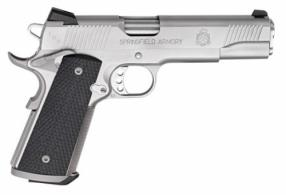 Springfield Armory PC9107L 1911 Single .45 ACP 5 7+1 Black G10 Grip Stainless S - PC9107L