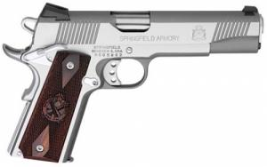 Springfield Armory PX9151LCA 1911 Single .45 ACP 5 7+1 Cocobolo Grip Stainless - PX9151LCA