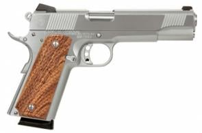 American Classic AC9G2C 1911 Single 9mm 5 8+1 Hardwood w/MAC Logo Grip - AC9G2C