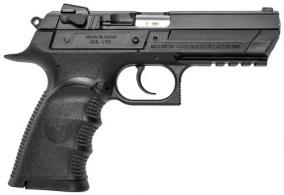 "Magnum Research BE99153RL Baby Desert Eagle Single/Double Action 9mm 4.4"" 16+1 Black Car - BE99153RL"