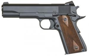 "Dan Wesson 01947 A2 Commander .45 ACP Single 4.25"" 8+1 Walnut Grip Blued Slide - 01947"