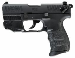 Walther Arms 5120529 P22 QD Single/Double .22 LR  (LR) 3.42 10+1 Black I - 5120529