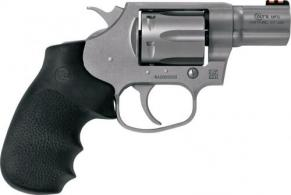 "Colt Cobra .38SPL+P FS 2.1"" Matte Stainless Steel Hogue Overmolded - COBRASM2FO"