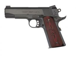 Colt Mfg O4940XE 1911 Single 45 Automatic Colt Pistol 4.25 8+1 Black Cherry G1 - O4940XE