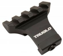 Truglo TG8975B Offset Picatinny Side Mount Rail Black Matte Anodized Finish - TG8975B