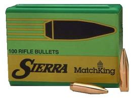 Sierra MatchKing Boat Tail Hollow Point 30 Cal 175 Grain 100 - 2275