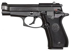 Beretta 84F 380ACP DA 10 Round Black Plastic Grips