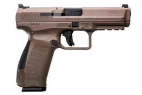 Century Arms HG4071DN TP9SF Double Action 9mm 4.46 10+1 Tan Interchangeable Backst - HG4071DN