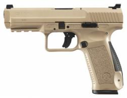 Canik TP-9SF 9mm 4.46 Inch Match Grade Barrel Warren Sights Desert Tan - HG4070DN