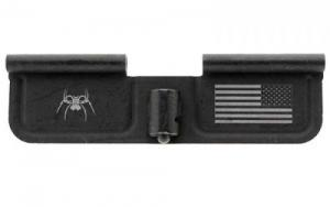 Spikes SED7010 Ejection Port Door AR-15 Laser-Engraved Spider Steel Black - SED7010