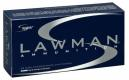 Speer Ammo 53824 Lawman 9mm Luger 124 GR Total Metal Jacket 50 Bx/ 20 Cs - 204