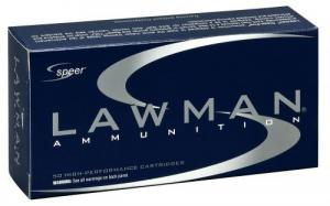 Speer Ammo 53826 Lawman 9mm Luger 147 GR Total Metal Jacket 50 Bx/ 20 Cs - 204