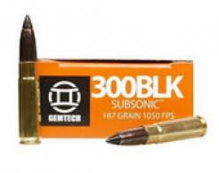 Gemtech 300BLK147 SuperSonic .300 BLK  (7.62X35mm) 147 GR Full M - 300BO