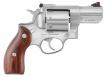 Ruger 5033 Redhawk Stainless Single/Double 357 Magnum 2.75 8 Hardwood Stainles