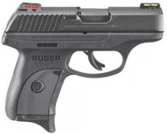 Ruger 3270 LC9s Double 9mm 3.12 7+1 Black Polymer Grip Blued