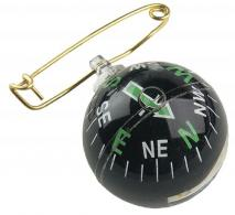 Allen 484 Liquid Filled Pin On Compass Black - 258