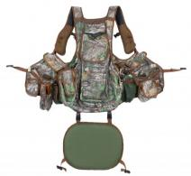 Hunters Specialties 100014 Undertaker Turkey Hunting Vest Nylon Adjustable Camo - 261