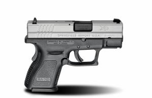 Springfield XD9821HCSP06 XD Sub-Compact 16+1/13+1 9mm 3""
